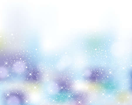 輝く星の背景