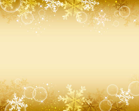 ゴールド クリスタル輝く背景  イラスト・ベクター素材