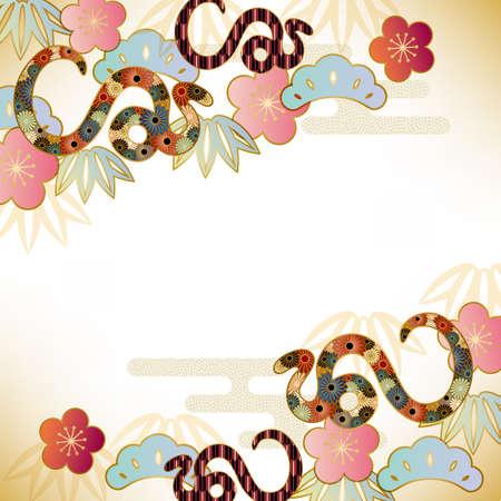 snake background Banco de Imagens - 16559956