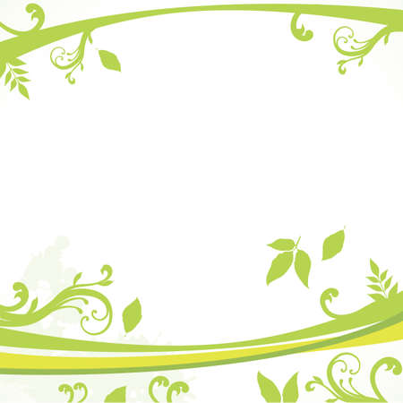 leaves background Stock Vector - 18538410