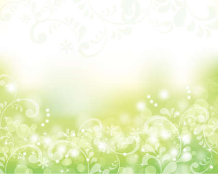 抽象的な背景が緑