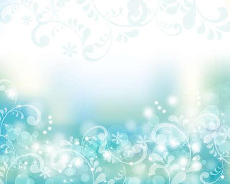 Fondo azul abstracto Foto de archivo - 20452311