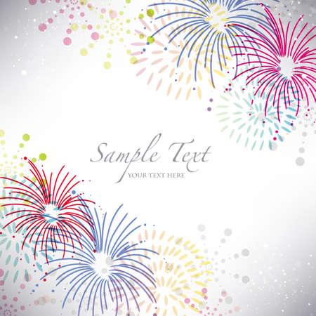 fireworks background Banco de Imagens - 20464548