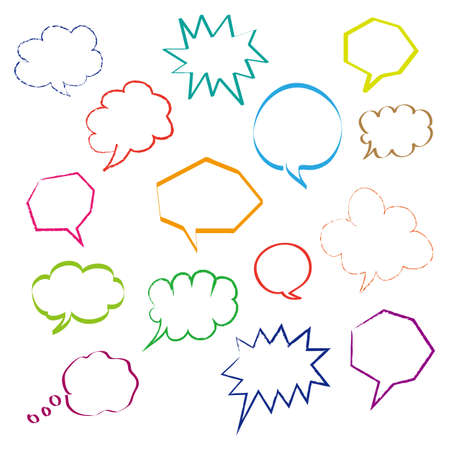 dialog bubbles set Stock Vector - 20561760