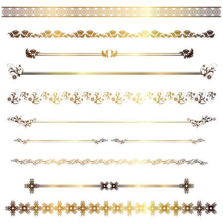 gouden regel  Stock Illustratie