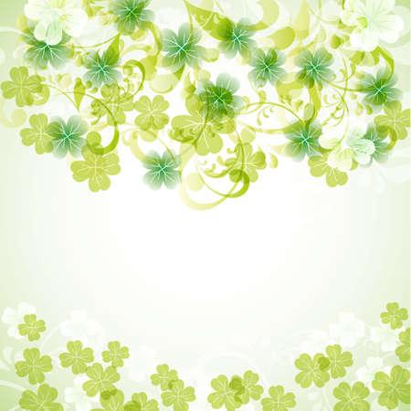 clover background Vector