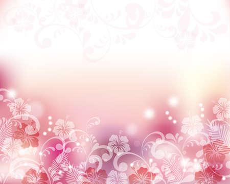 Hibiscuses 背景 写真素材 - 38627598
