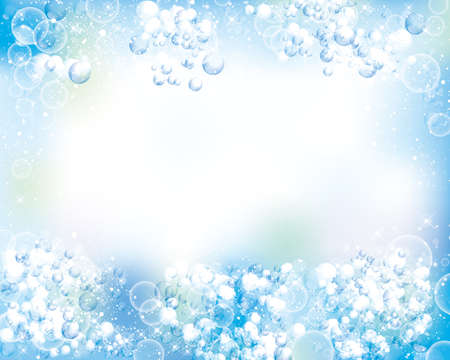泡の背景  イラスト・ベクター素材