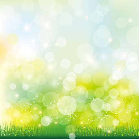 gradation: green background