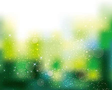 boke: green background