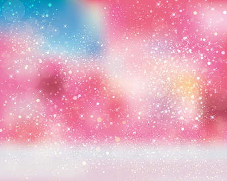 exciting: It shines background Illustration
