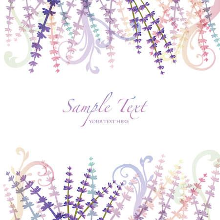 salts: lavender background