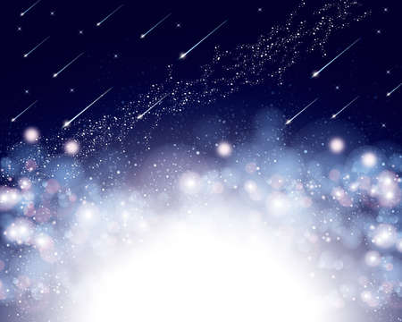 shooting star background 免版税图像 - 40206513