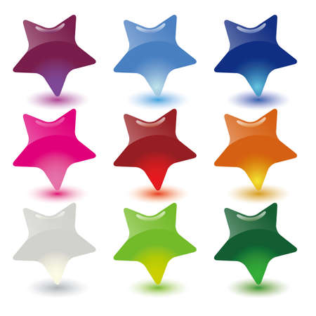 hull: star dialog bubbles set