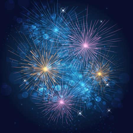 Feuerwerk Standard-Bild - 41783841