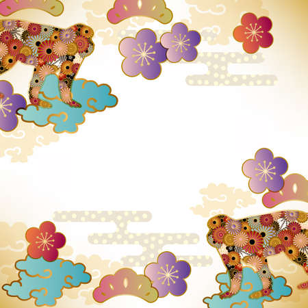 geishun: monkey background