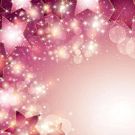 light source: abstract stars background Illustration