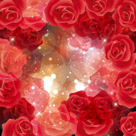 background of rose