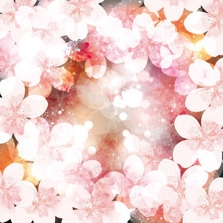 blossom background: cherry blossom background