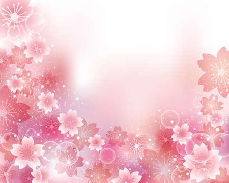 subject matter: cherry blossom background