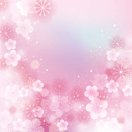 colores pastel: flor de albaricoque japonés
