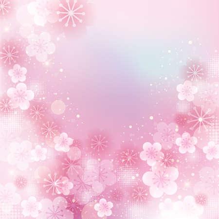 blurs: Japanese apricot flower
