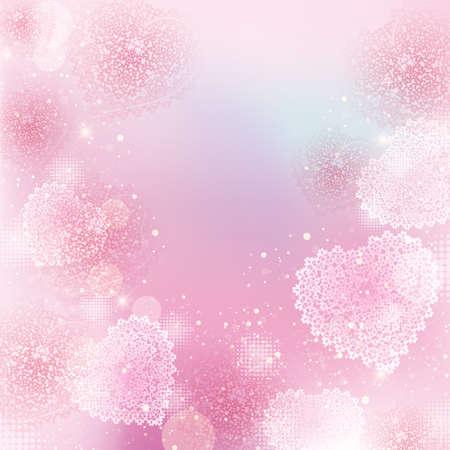 achtergrond van het hart  Stock Illustratie