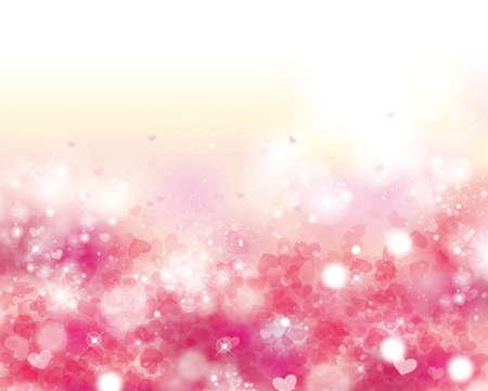fantasy background: background of hearts