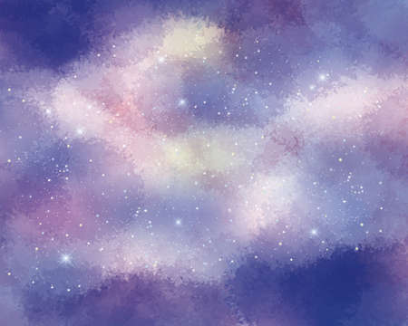 Starry sky abstract