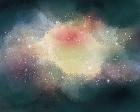 Starry sky abstract Vektorové ilustrace