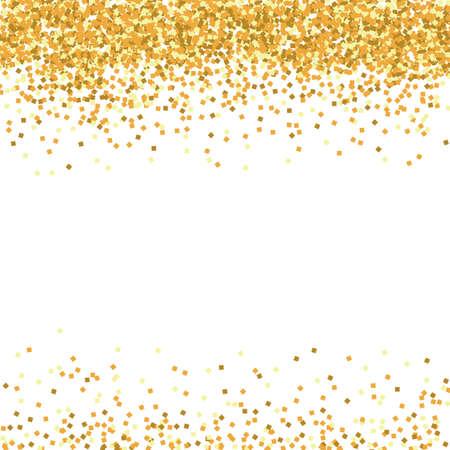 vector background of golden glitter