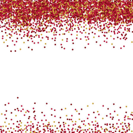 vector background of red glitter