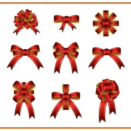 Set of ribbons Ilustração