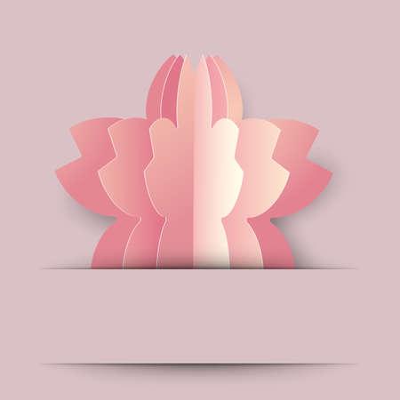 background illustration of cherry blossom