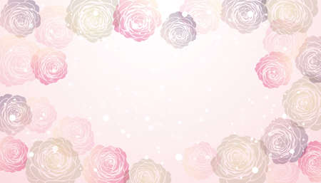 vector background  of Camellia illustration Vectores