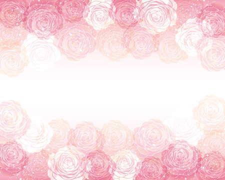 vector background  of Camellia illustration Foto de archivo - 144767001