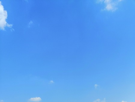Beautiful clouds on blue sky background wallpaper