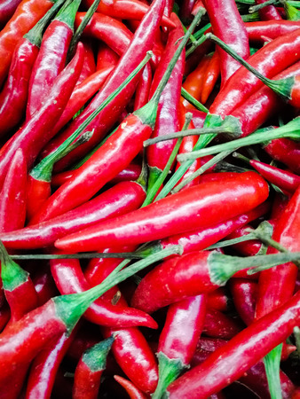 The spicy chili vegetable