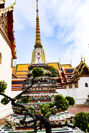 Wat Pho ( Temple of the Reclining Buddha), or Wat Phra Chetuphon, is located behind the Temple of the Emerald Buddha and a must-do for any first-time visitor in Bangkok. It's one of the largest temple