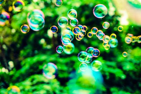 Hermoso fondo de textura de burbujas abstractas y papel tapiz