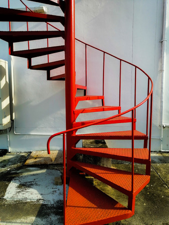 Fire escape and emergency for safety Reklamní fotografie