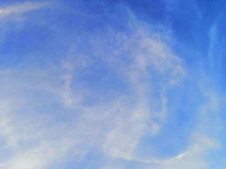 Beautiful blue sky and landscape texture background, wallpaper
