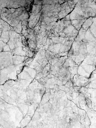 Beautiful abstract color surface gray black and white granite texture on white wall and white and black granite tiles floor pattern Stock Photo