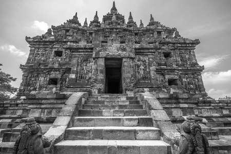 Kala Makara Entrance of Plaosan Lor in Plaosan temple Complex, built in 9th century by Pramodhawardhani. Located in Bugisan village, Prambanan district, Klaten Regency, Central Java, Indonesia