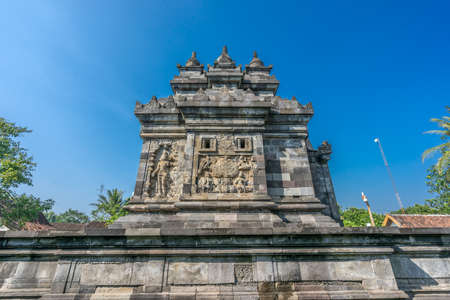Candi Pawon Temple, is a Buddhist temple located between Borobudur and Mendut temple. In magelang, Central Java, Indonesia