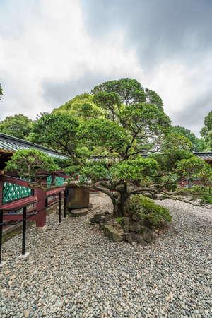Ueno Tosho-gu shinto shrine. Gardens of Shaden (Main Hall) National Treasure of Japan. Located in Ueno Park, Taito Ward, Tokyo