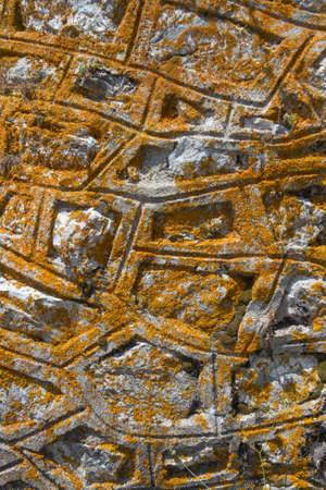 estereotipo: Sobre la base de piedra, Corf� Foto de archivo