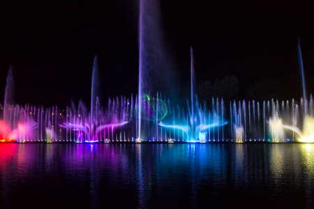 warble: Singing fountains in Vinnitsa