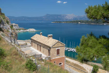 aéroglisseur: Unreal landscapes, nature, clouds, sea, mountains. Clear sea water, blue sky, houses, olives and all you expect from Greece!