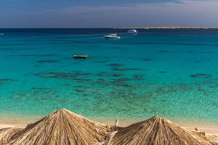 Dreamlike beauty of a tropical island Stock Photo